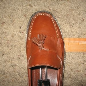 Connie Shoes - Connie - Leather Loafers - 9W Brown